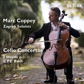J. Haydn: Cello Concertos Nos. 1 & 2; C.P.E. Bach: Cello Concerto in A major / Marc Coppey, cello; Zagreb Soloists