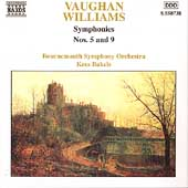 Vaughan Williams: Symphonies 5 & 9 / Bakels, Bournemouth SO