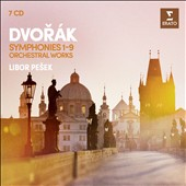 Dvorak: Symphonies Nos. 1-9; The Wild Dove; Carnival Ov.; Czech Suite; In Nature's Realm; Othello; American Suite / Royal Liverpool PO; Czech PO; Libor Pesek (rec. 1987-1996)  [7 CDs]