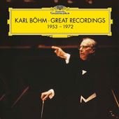 Karl Böhm, Great Recordings 1953-1972 - Works by Beethoven, Brahms, Haydn, Mahler, Mozart, et al / Karl Böhm, conductor; various artists & orchestras [17 CDs]