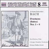 Naxos Bach Edition 8 - Bach: Overtures (Suites) no 1-4