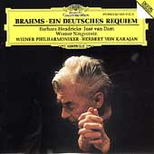 Brahms: Ein deutsches Requiem / Karajan, Hendricks, van Dam