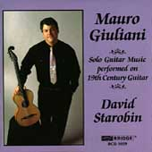 Giuliani: Solo Guitar Music / David Starobin