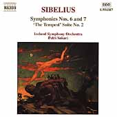 Sibelius: Symphonies no 6 and 7, etc / Sakari, Iceland SO