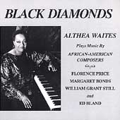 Black Diamonds - African-American Composers / Althea Waites