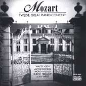Mozart: Twelve Great Piano Concertos / Klien, Brendel, et al