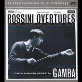 Rossini: Overtures / Pierino Gamba, LSO
