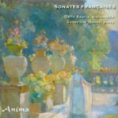 French Sonatas for Cello by Soulage, Ferroud, Viardot / Odile Bourin, cello; Genevieve Ibanez, piano
