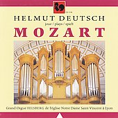 Mozart: Organ Works / Helmut Deutsch