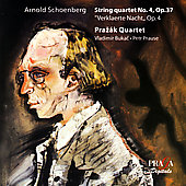 Schoenberg: String Quartet no 4, etc / Prazák Quartet