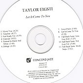 Taylor Eigsti: Let It Come to You