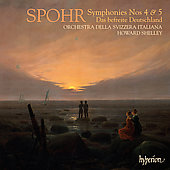 Spohr: Symphonies no 4 & 5, etc / Shelley, et al