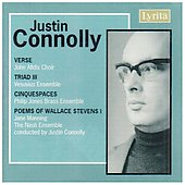 Connolly: Verse, Triad no 3, Cinquespaces, etc / Manning, Nash Ensemble, et al