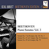 Beethoven Edition Vol 5 - Piano Sonatas Vol 3 / Idil Biret
