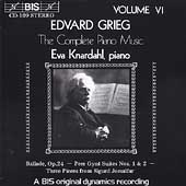 Grieg: Complete Piano Music Vol 6 / Eva Knardahl