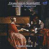 Scarlatti: Sonatas for Harpsichord / Virginia Black