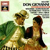 Mozart: Don Giovanni - Highlights / Giulini, Sutherland