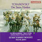 Tchaikovsky: The Snow Maiden / Järvi, Detroit Symphony