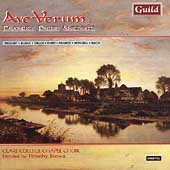 Ave Verum - Favorite Parish Anthems / Brown, Clare College