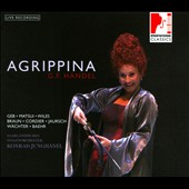 Handel: Agrippina / Geb, Matsui Wiles, Braun, Cordier, Jaursch, Wachter, Baehr. Junghanel