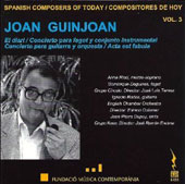 Spanish Composers of Today, Vol. 3: Joan Guinjoan / Various Artists