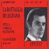 Verdi: Battaglia di Legnano / Corelli, Bastianini, Gavazzeni