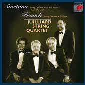 Smetana, Franck: String Quartets / Juilliard String Quartet