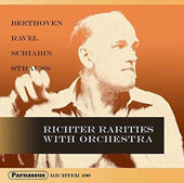 Richter Rarities with Orchestra: Beethoven, Ravel, Scriabin, Strauss / Sviatoslav Richter, piano; Georgescu