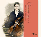 Benjamin Britten: Cello Suites Nos. 1-3 / Quirine Viersen, cello