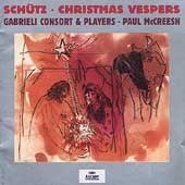 Sch&uuml;tz: Christmas Vespers / Paul McCreesh, et al