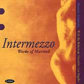 Intermezzo - Works of Martinu / Zukovsky, Bohemian Ensemble