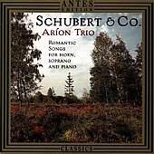Schubert & Co / Aríon Trio