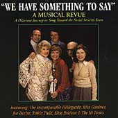 Various Artists: We Have Something to Say