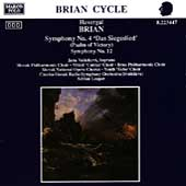 Brian: Symphonies no 4 & 12 / Leaper, Val&#225;skov&#225;, et al