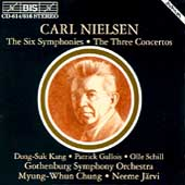 Nielsen: The Six Symphonies / Chung, J&#228;rvi, Gothenburg SO