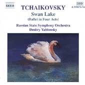 Tchaikovsky: Swan Lake / Dmitry Yablonsky, Russian State SO
