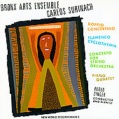 Surinach: Doppio Concertino / Zinger, Bronx Arts Ensemble