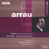Arrau - Brahms: Piano Concerto no 2;  Schubert: Three Pieces