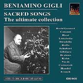Sacred Songs / Beniamino Gigli