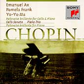 Chopin: Piano Trio, etc / Ax, Frank, Ma