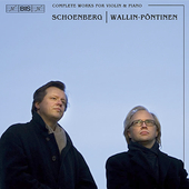 Schoenberg: Complete Works for Violin and Piano / Wallin