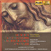 Haydn: Seven Last Words of Christ / Bernius, et al