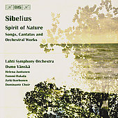 Spirit of Nature - Sibelius: Songs, Cantatas, etc / V&#228;nsk&#228;