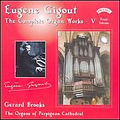 Eugene Gigout: Complete Organ Works Vol 5 / Gerard Brooks