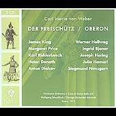 Weber: Der Freisch&#252;tz, Oberon / Sawallisch, Albrecht, et al