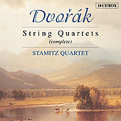 Dvor&aacute;k: Complete String Quartets / Stamitz String Quartet