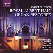 Royal Albert Hall Organ Restored / Simon Preston
