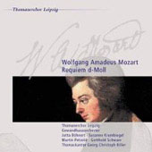 Mozart: Requiem / B&#246;hnert, Krumbiegel, Petzold, Schwarz, Biller