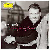 Bryn Terfel - A song in my heart: Songs by James P. Carrell, Vaughan Williams, John Ireland, Mozart / Bryn Terfel, baritone