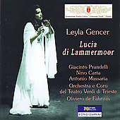 Donizetti: Lucia di Lammermoor / De Fabritiis, et al